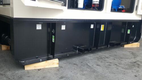 Groupe électrogène location GeniWatt FG Wilson chassis